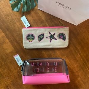 FOSSIL Cosmetic Bag Bundle